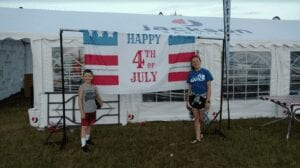 4th of July Fireworks Show in Lagrange