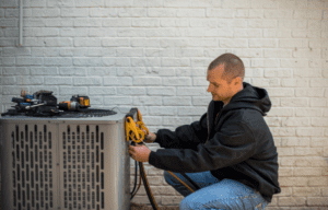 heating and air technician jobs performing maintenance on hvac system